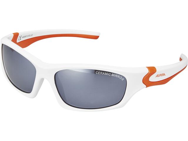 Alpina Flexxy Teen white-orange